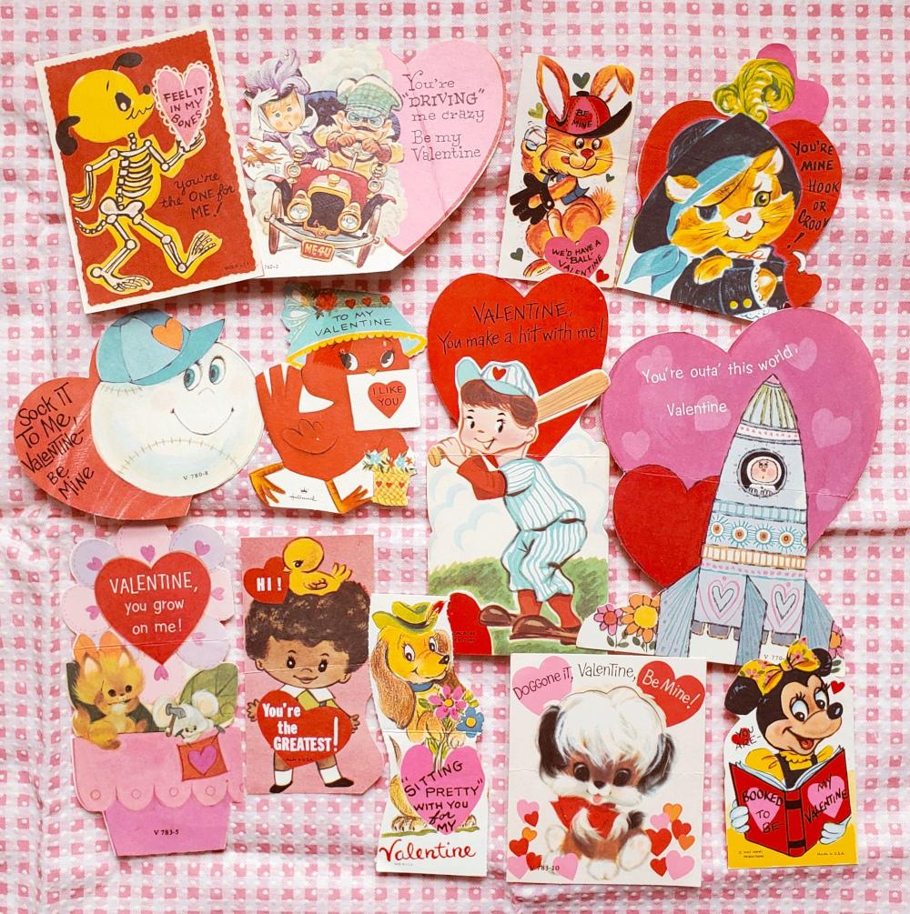 Collecting vintage valentines