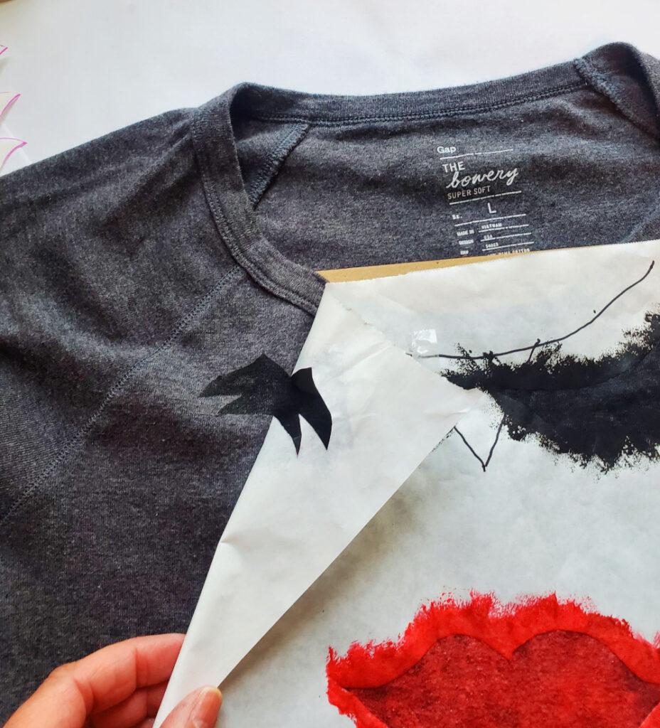 DIY painted tshirt