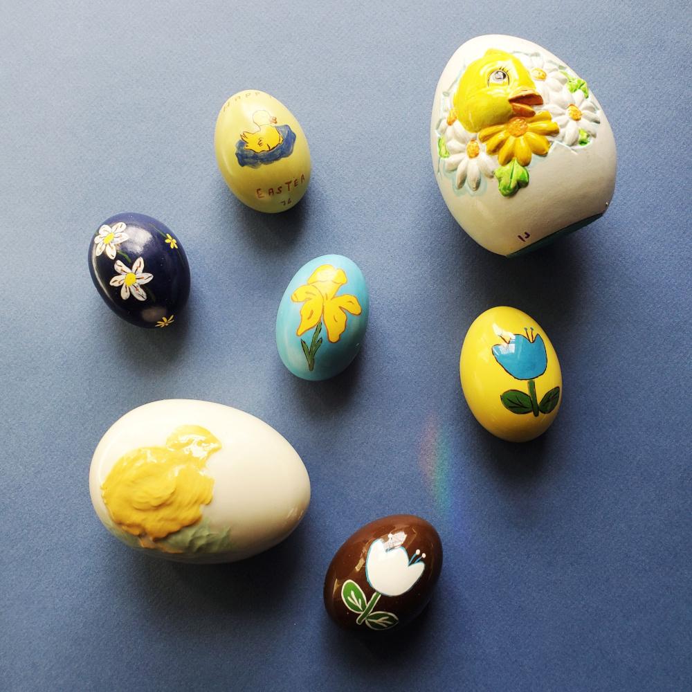 Vintage Easter Decor3
