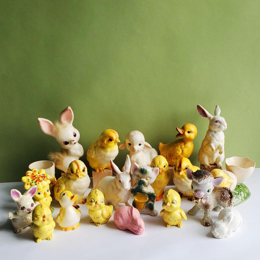 Vintage Easter Decor6