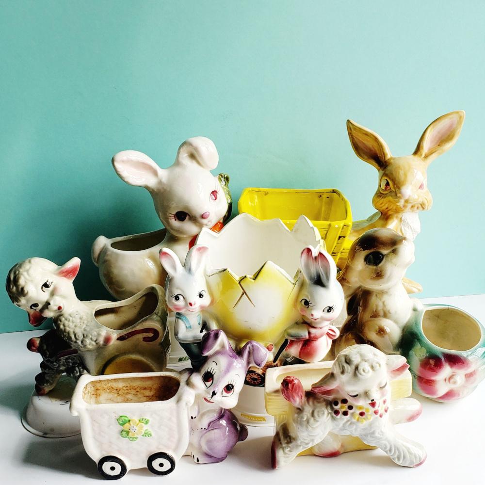Vintage Easter Decor7