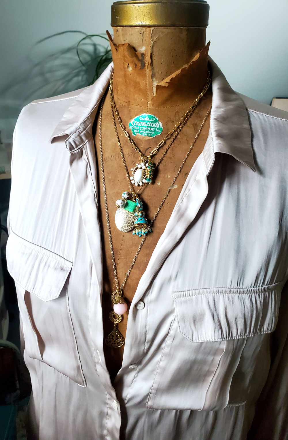 Make your own charm necklace