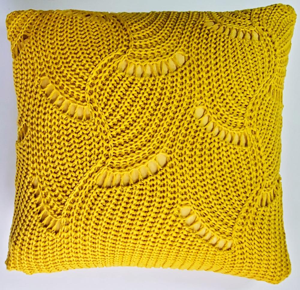 Purposed sweater pillow